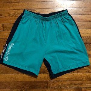 VINTAGE Reebok above the knee shorts